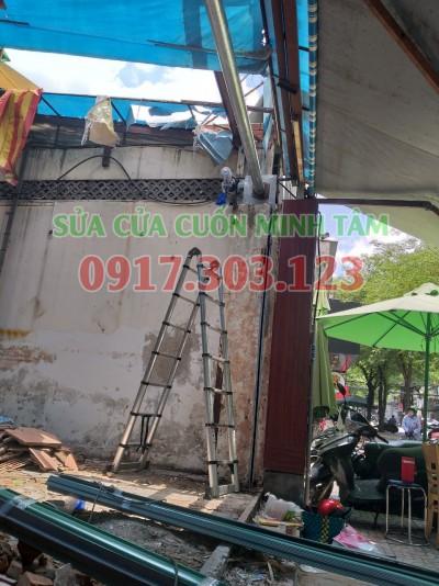 Sửa cửa cuốn huyện Hóc Môn